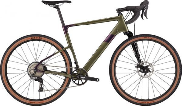 Cannondale Topstone Carbon Lefty 3 heren 2021